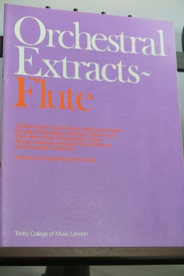 Orchestral Excerpts - Flute